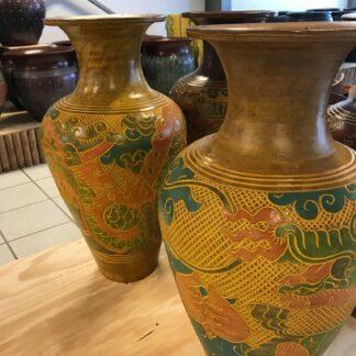 Krukke/vase Dragon Thailand