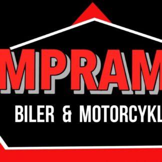 Empramote biler og motorcykler til salg